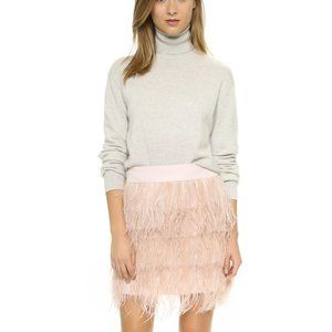 Club Monaco Dace Feather Skirt